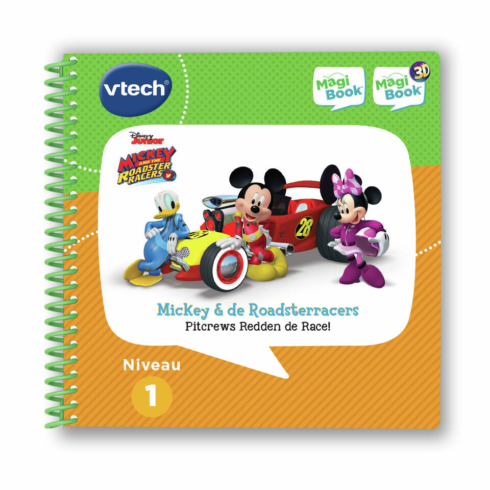 VTech MagiBook Mickey & The Roadster racers