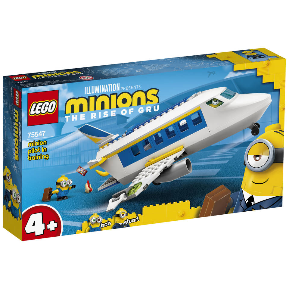 LEGO Minions: The Rise of Gru training van Minion-piloot 75547