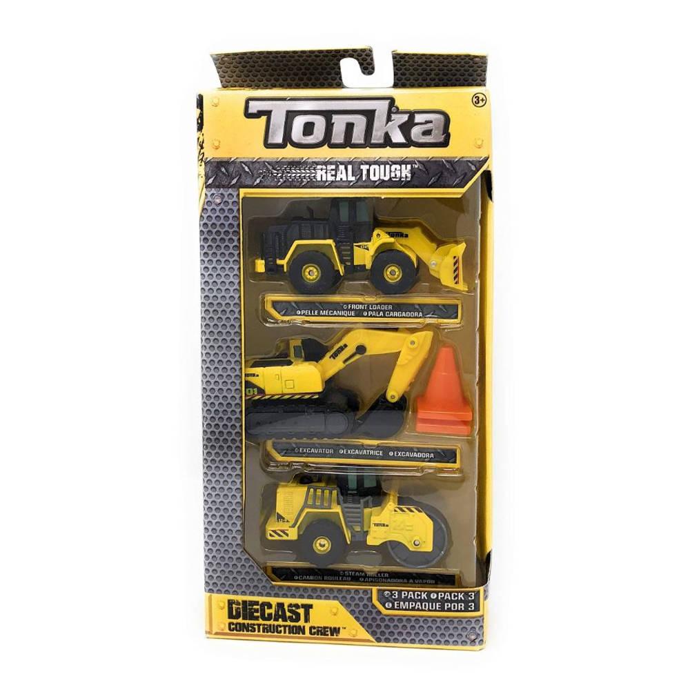 Tonka die-cast bouwmachines