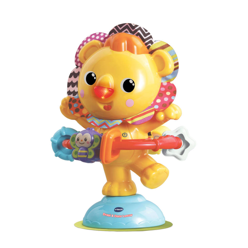 VTech Baby Draai & Dans leeuw