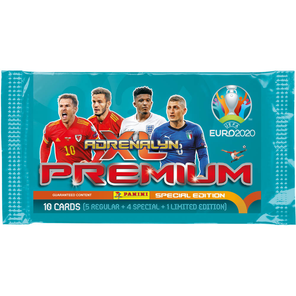 Adrenalyn XL UEFA Euro 2020 premium packet
