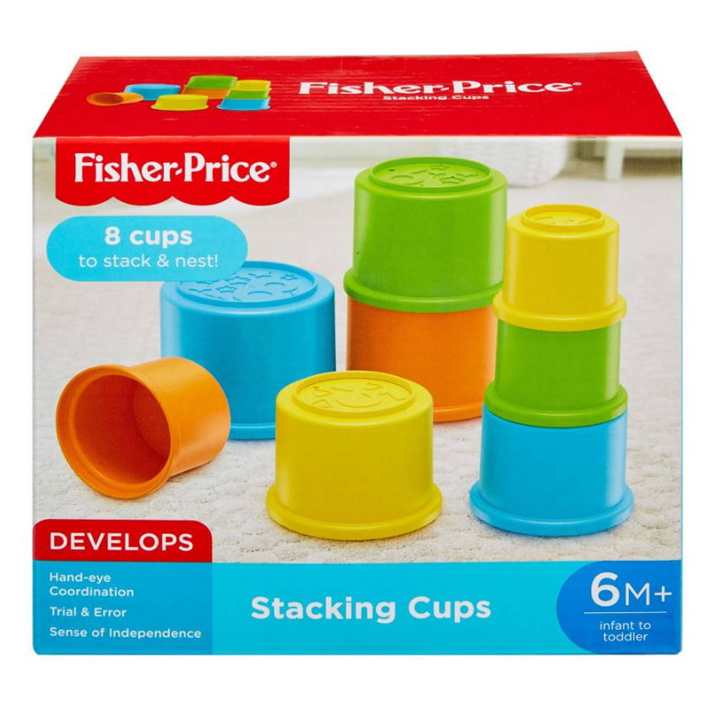 Fisher-Price stapelbekers