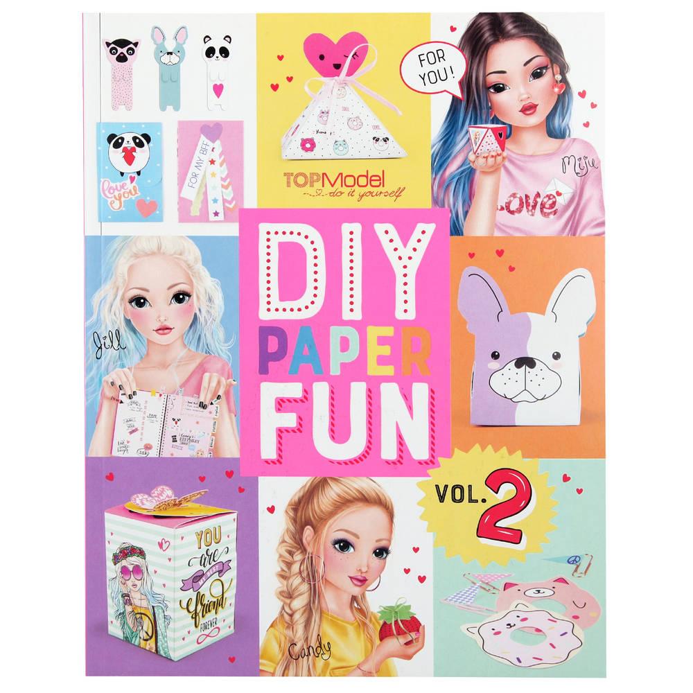 TOPModel DIY Paper Fun knutselboek