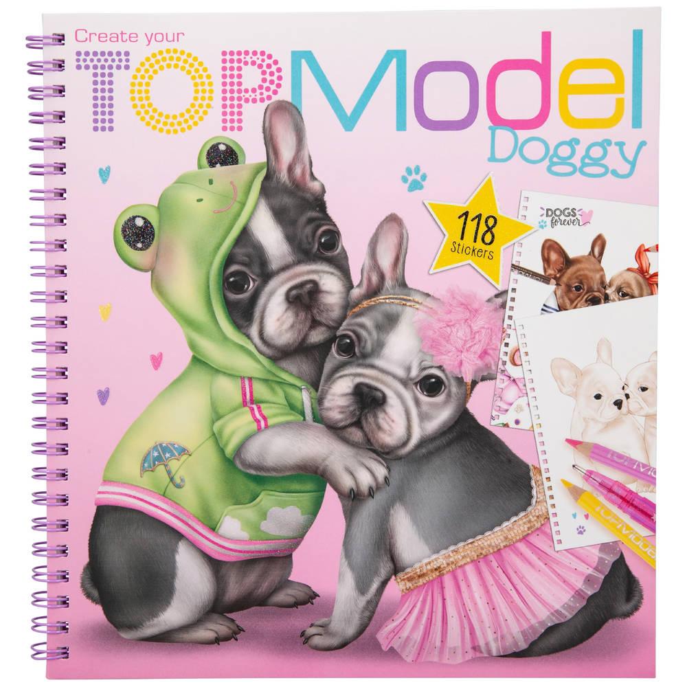 TOPModel Create your TOPModel Doggy kleurboek