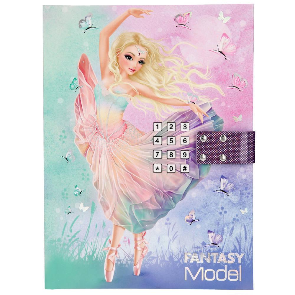 TOPModel Fantasy Model ballet dagboek met geheime code