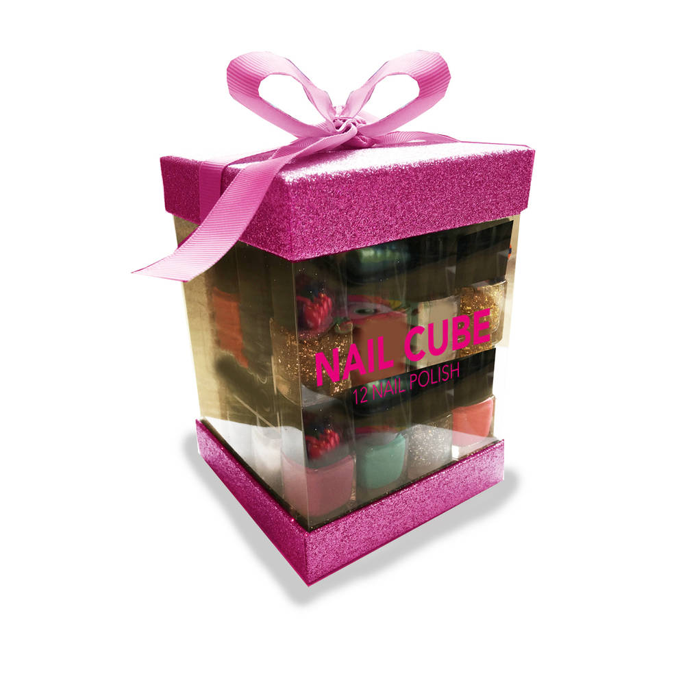 Girl Code Nail Cube nagellakset 12-delig