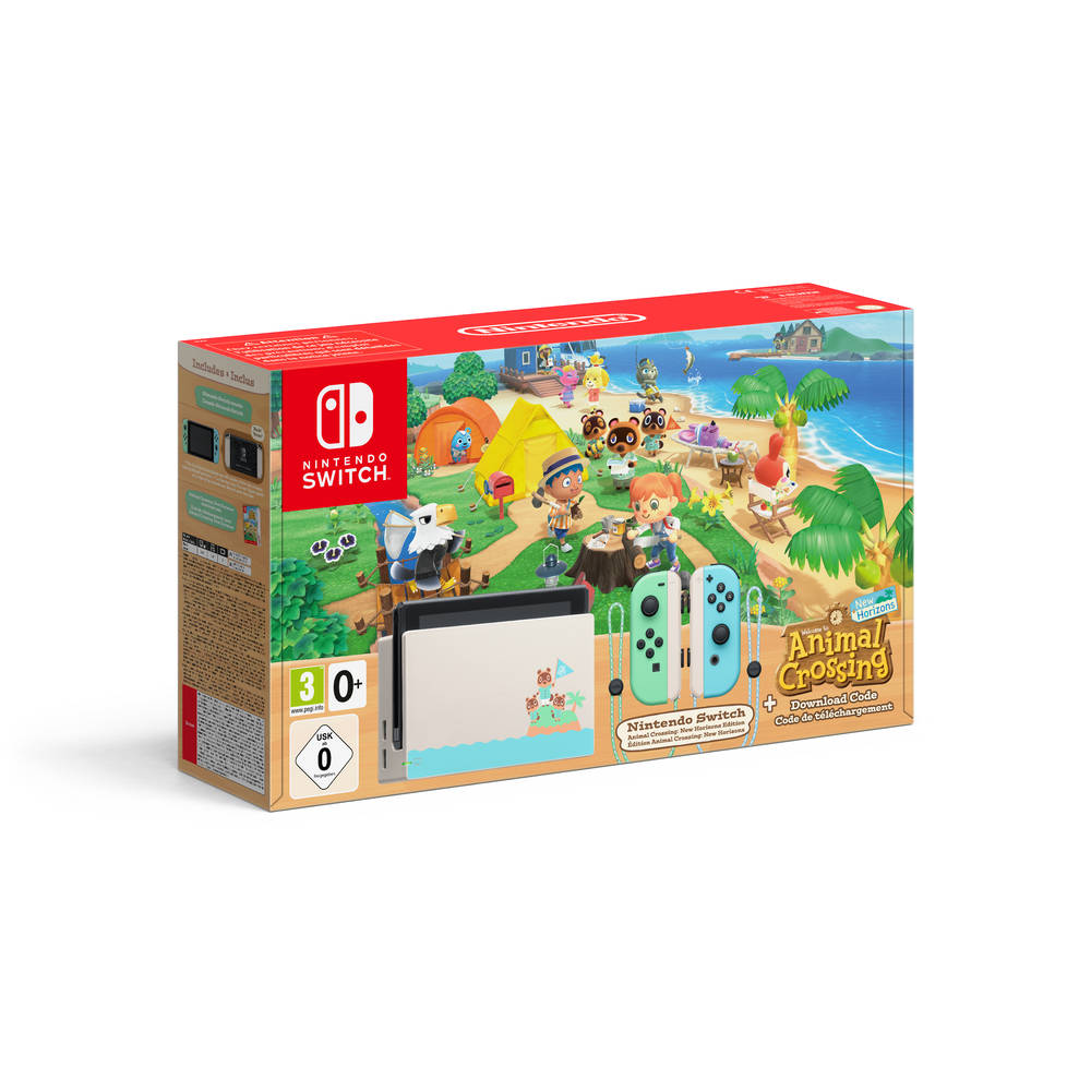 Nintendo Switch Animal Crossing: New Horizons editie
