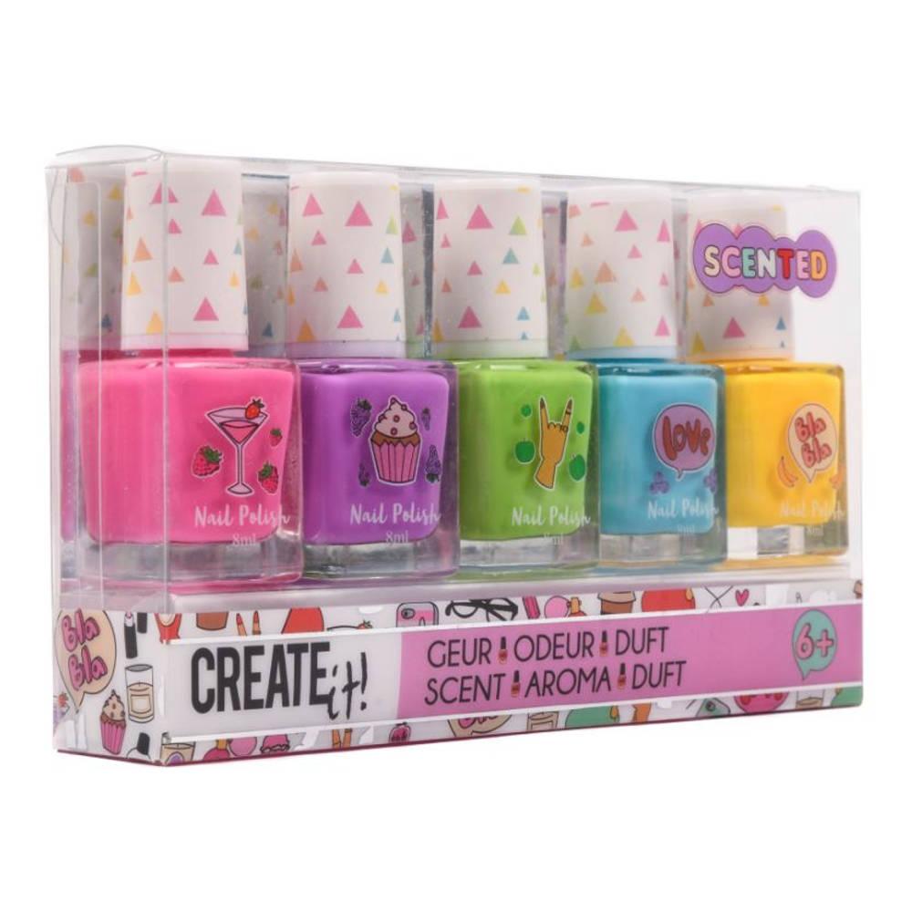 Create It! nagellak set met geur 5-delig