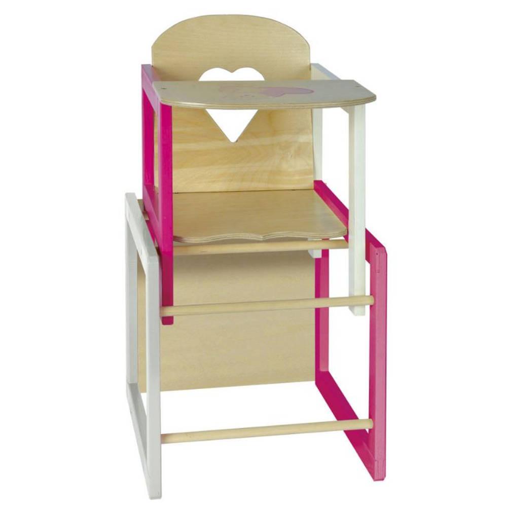 Eichhorn hoge stoel voor poppen - 35-49 cm