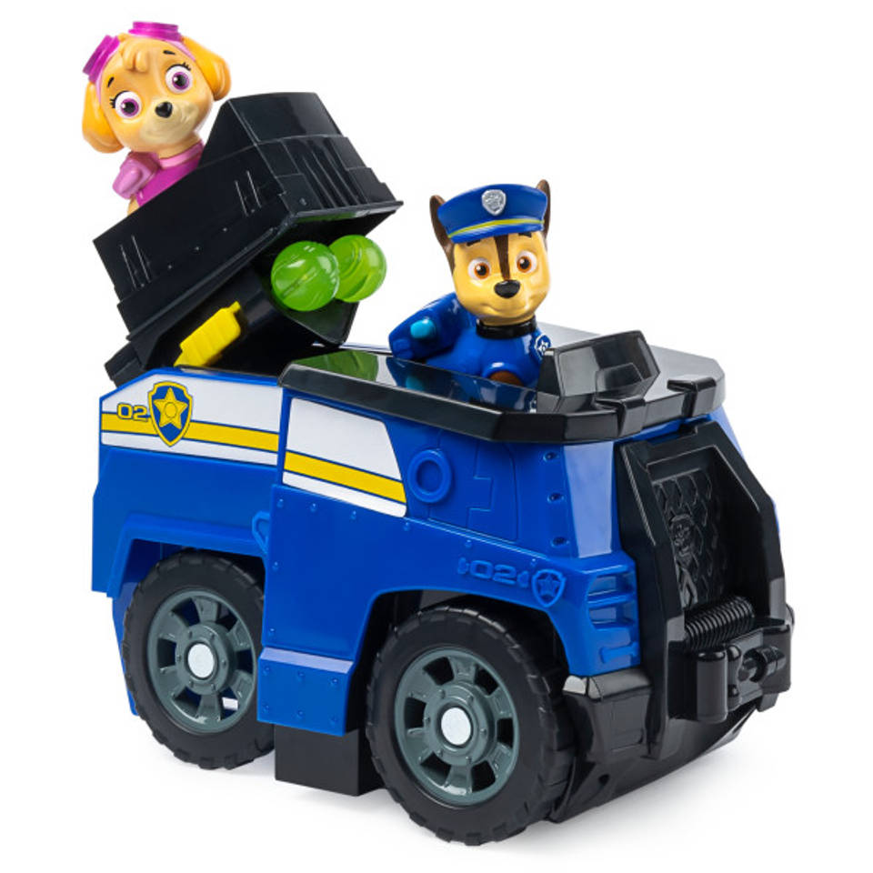 PAW Patrol Split-Second voertuig 2-in-1 Chase