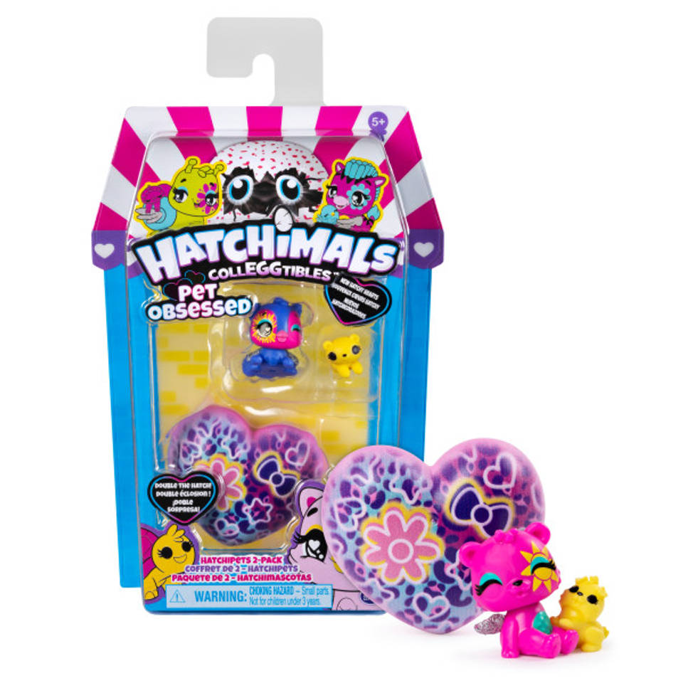 Hatchimals CollEGGtibles seizoen 7 figurenset Hatchipets 2-pack