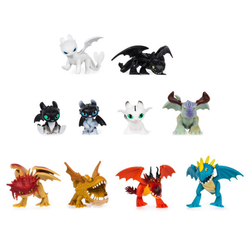 Dragons mysterieuze draak figuur