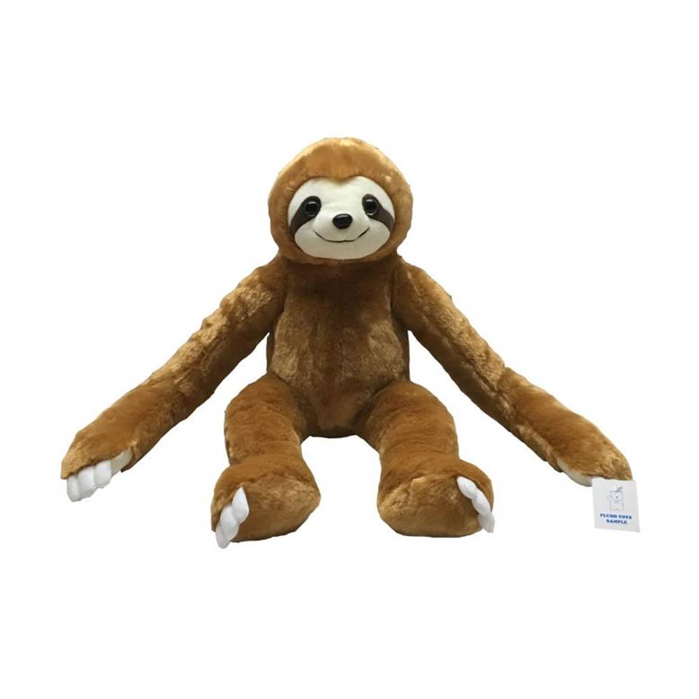 Knuffel luiaard met lange benen - 50 cm