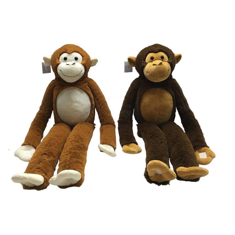 Knuffel aap met lange benen - 85 cm