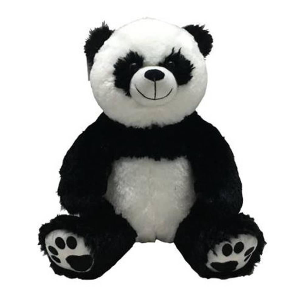 Zittende knuffel panda - 33 cm