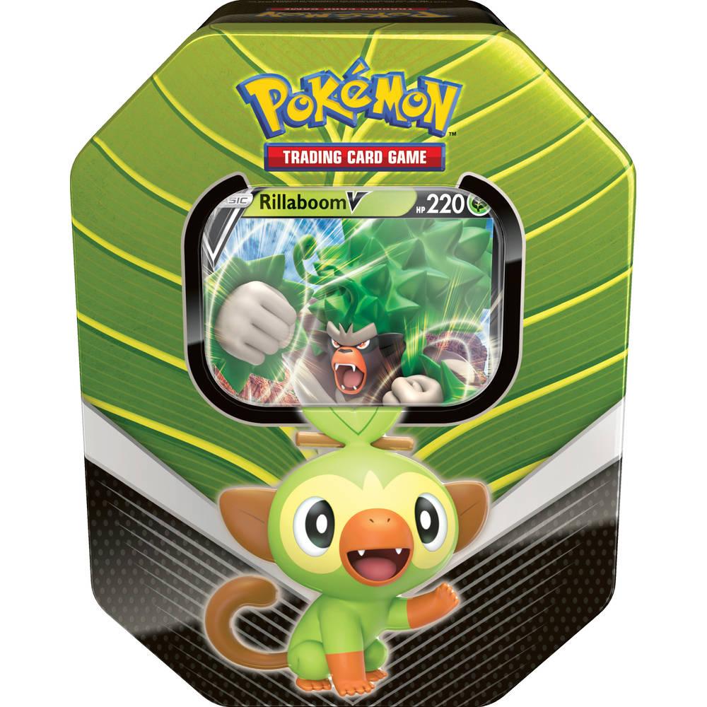 Pokémon TCG Sword & Shield Galar V verzamelblik Rillaboom
