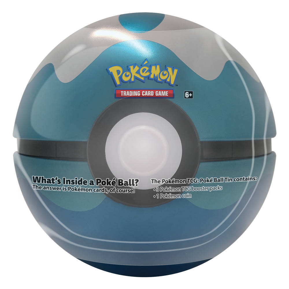 Pokémon TCG Dive Ball tin