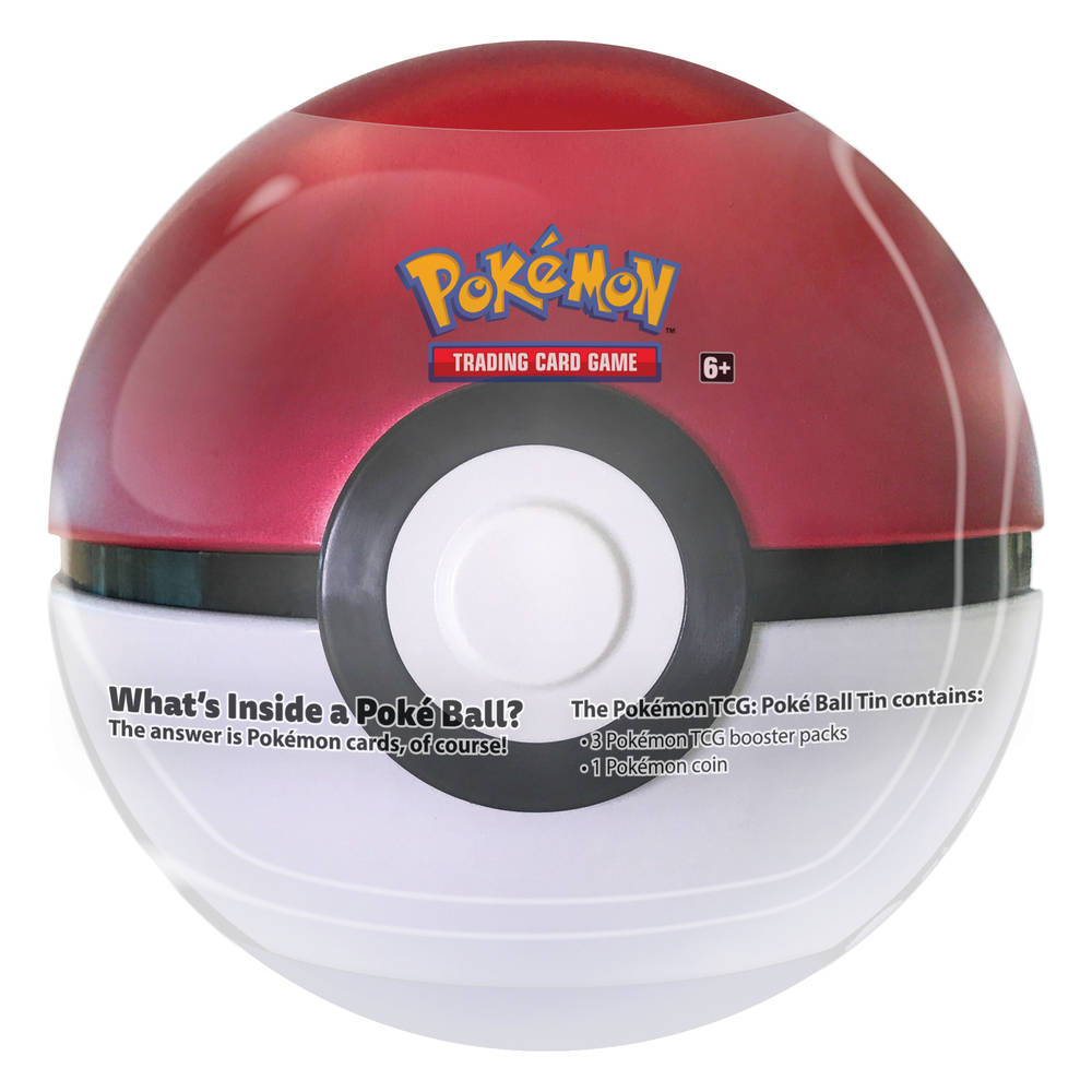 Pokémon TCG Poké Ball tin