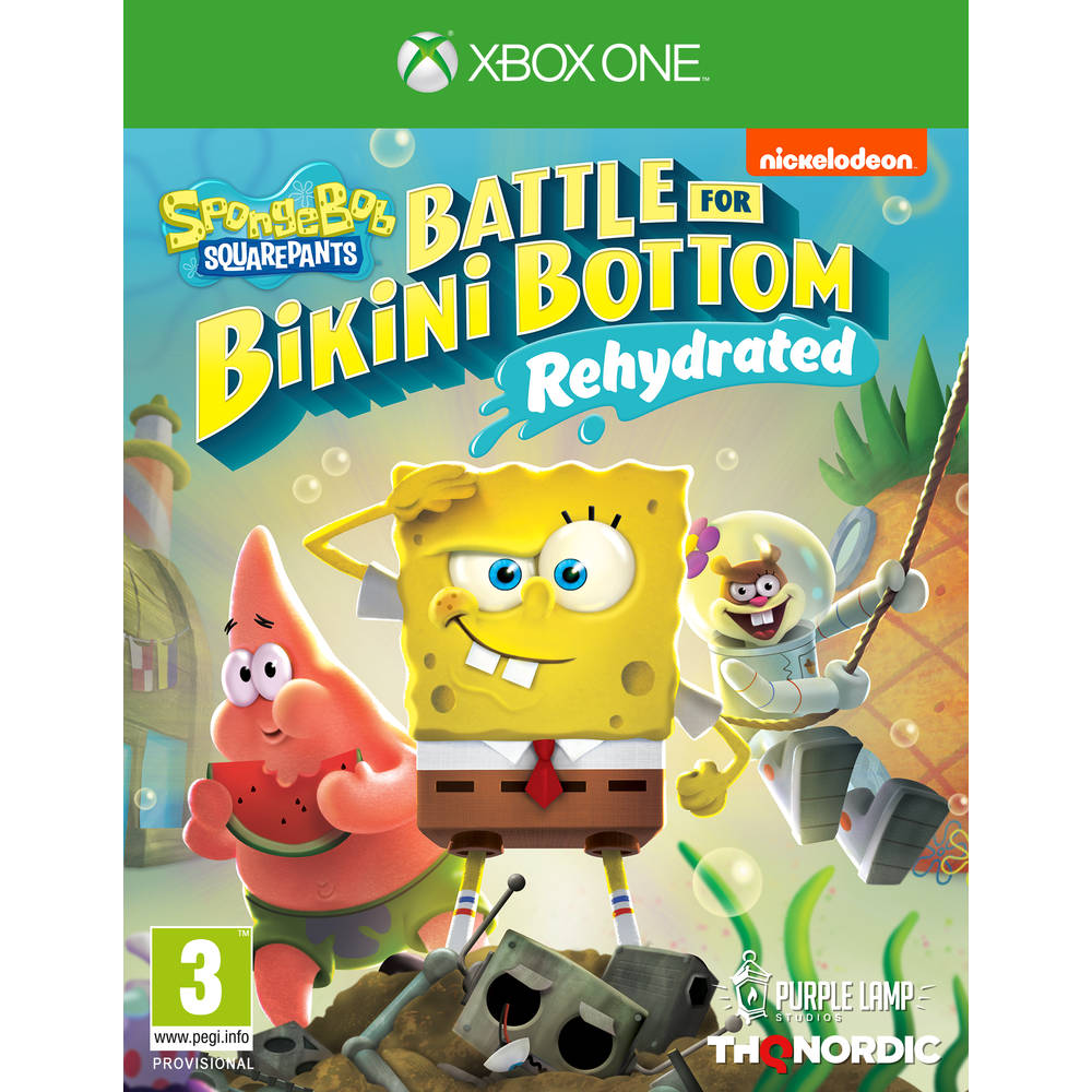 Xbox One SpongeBob SquarePants Battle for Bikini Bottom Rehydrated