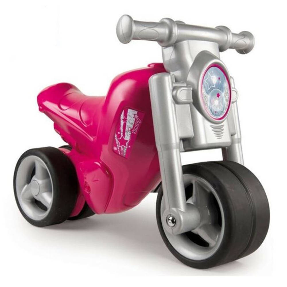 Smoby moto ride-on loopmotor - roze
