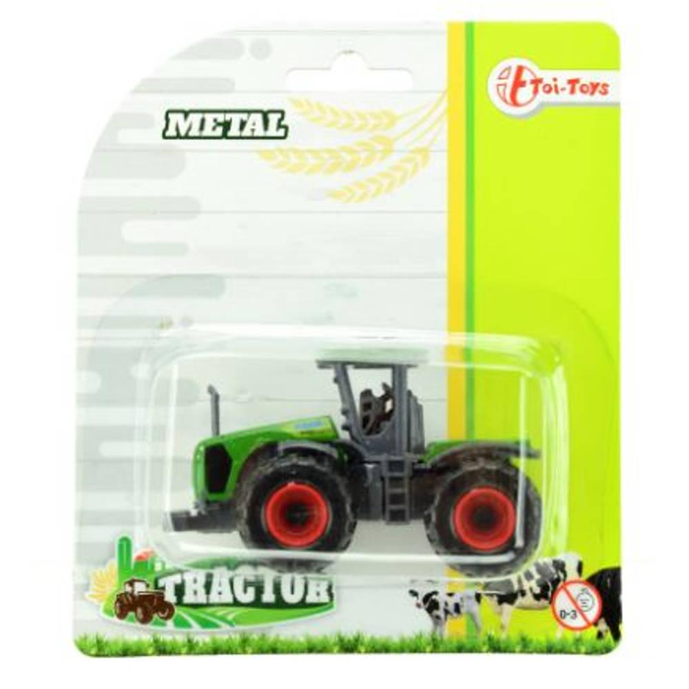 Metalen boerderij tractorset 4-delig