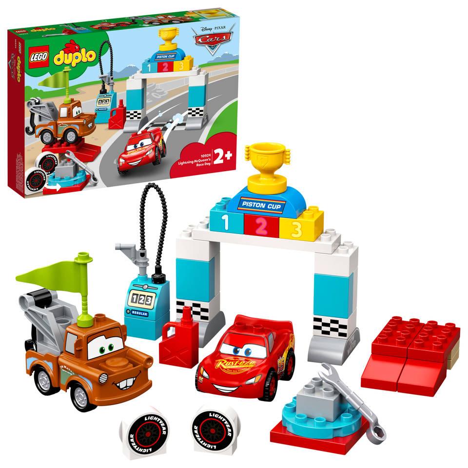 LEGO DUPLO Bliksem McQueens racedag 10924