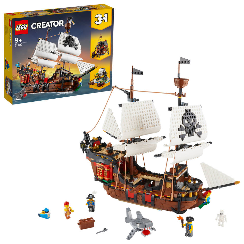 LEGO Creator piratenschip 31109
