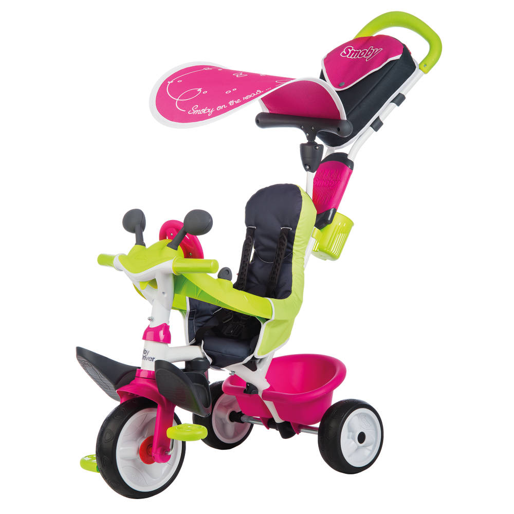 Smoby Comfort 2 driewieler - roze