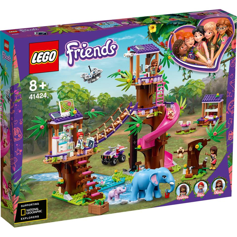 LEGO Friends Jungle reddingsbasis 41424