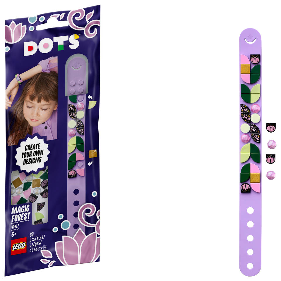 LEGO DOTS magisch woud armband 41917