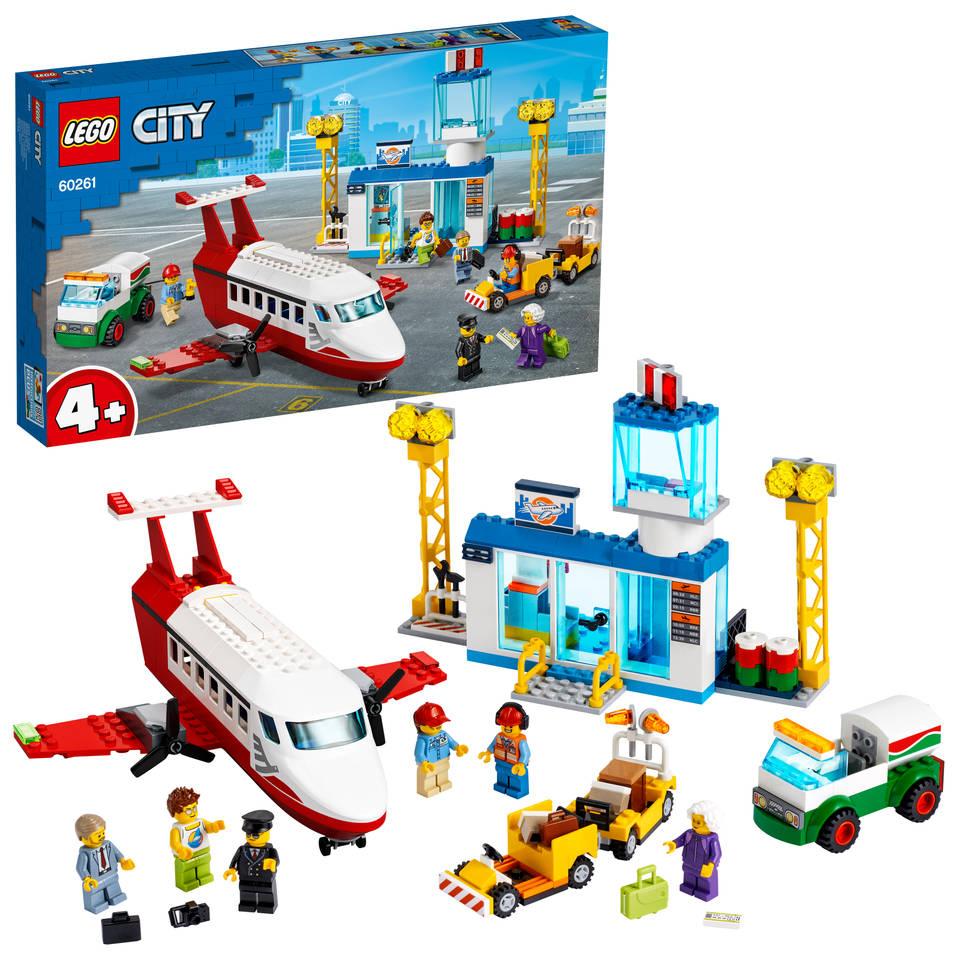 LEGO City centrale luchthaven 60261