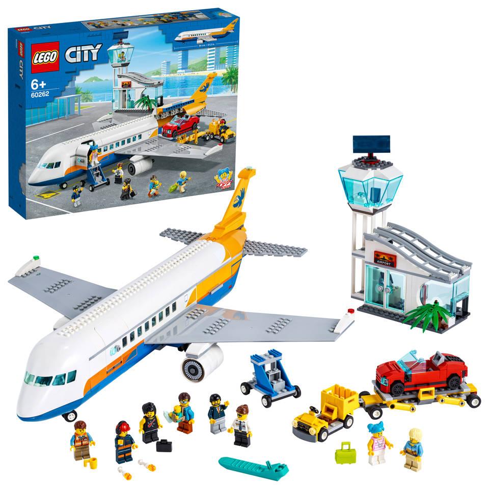 LEGO City passagiersvliegtuig 60262