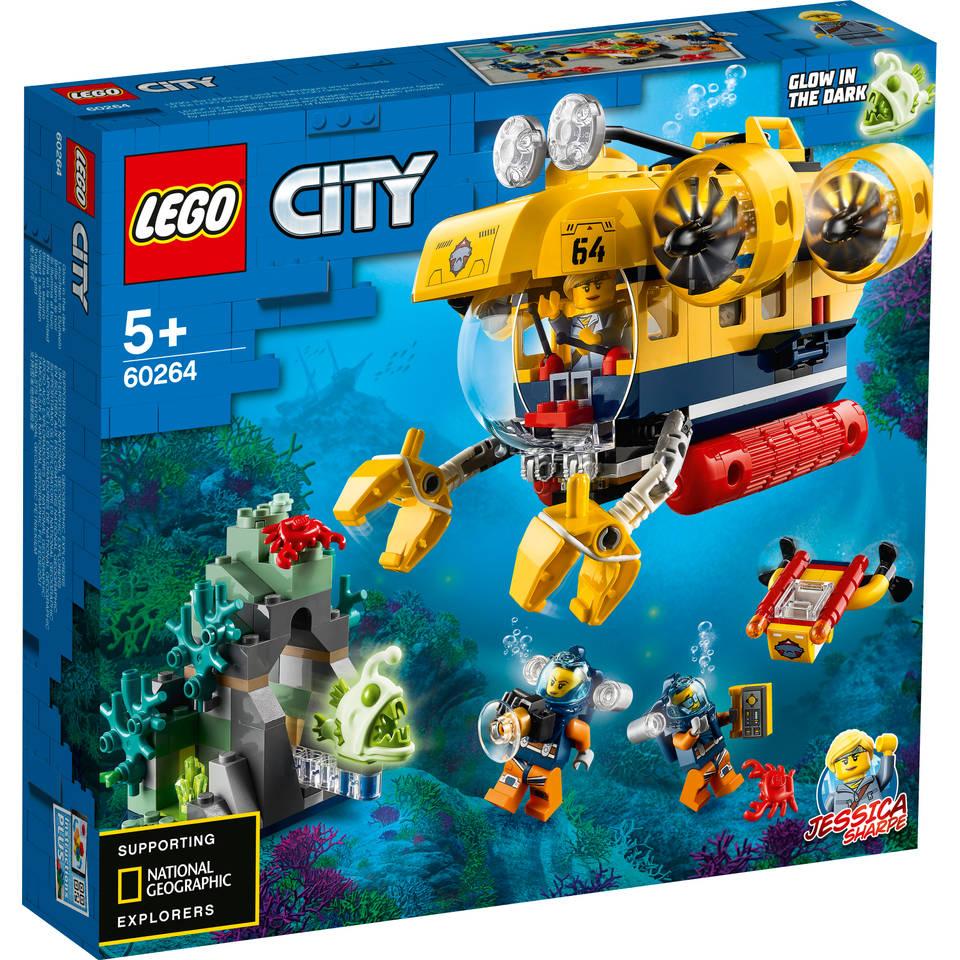 LEGO City oceaan verkenningsduikboot 60264
