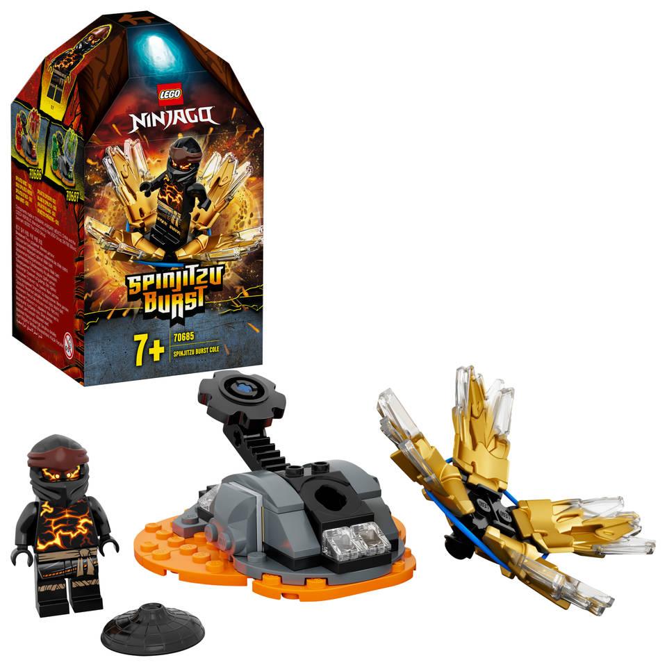 LEGO Ninjago Spinjitzu Burst Cole 70685