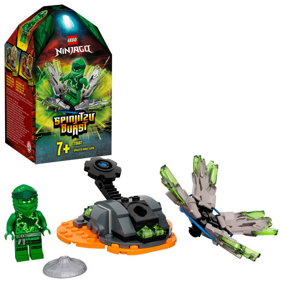 LEGO Ninjago Spinjitzu Burst Lloyd 70687