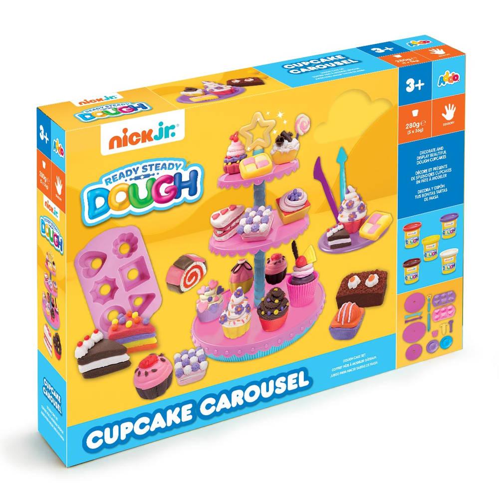 Nick Jr. Ready Steady Dough klei cupcake carrousel