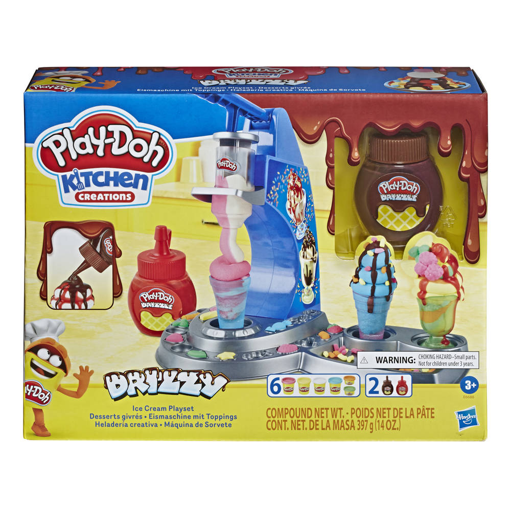 Play-Doh Kitchen Creations ijsjes speelset