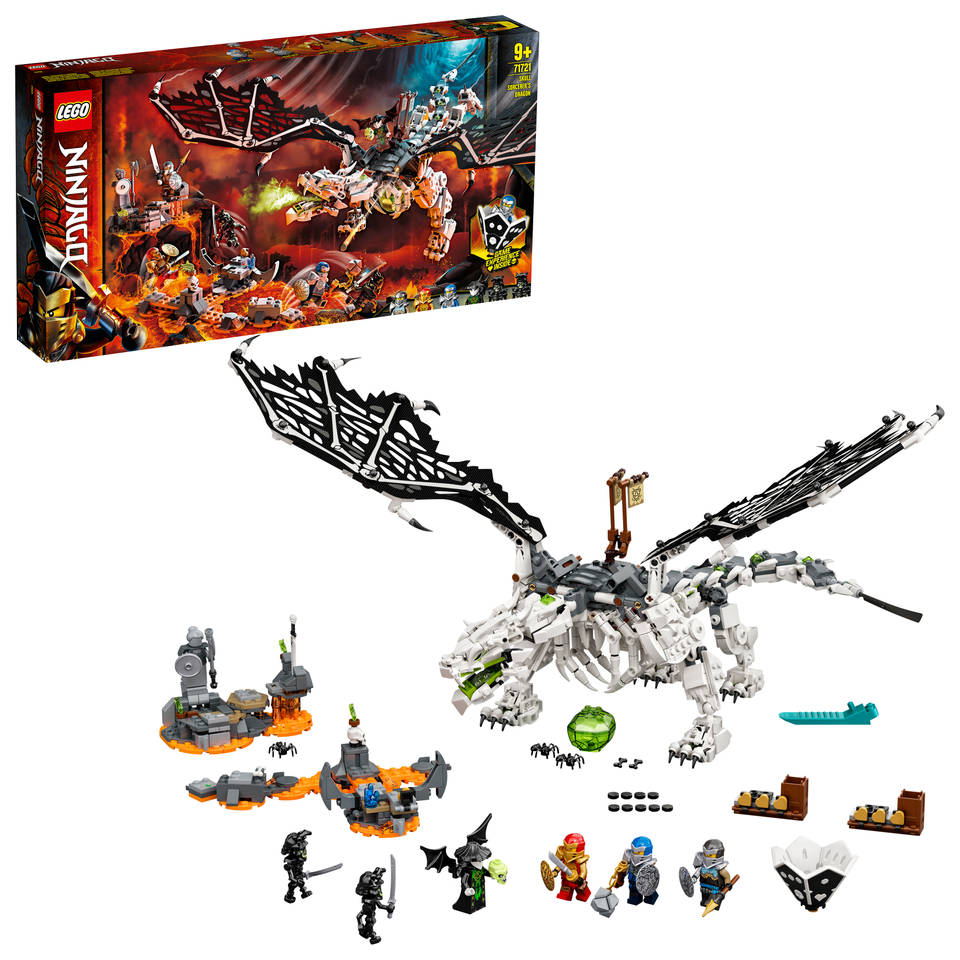 LEGO Ninjago Skull Sorcerers draak 71721