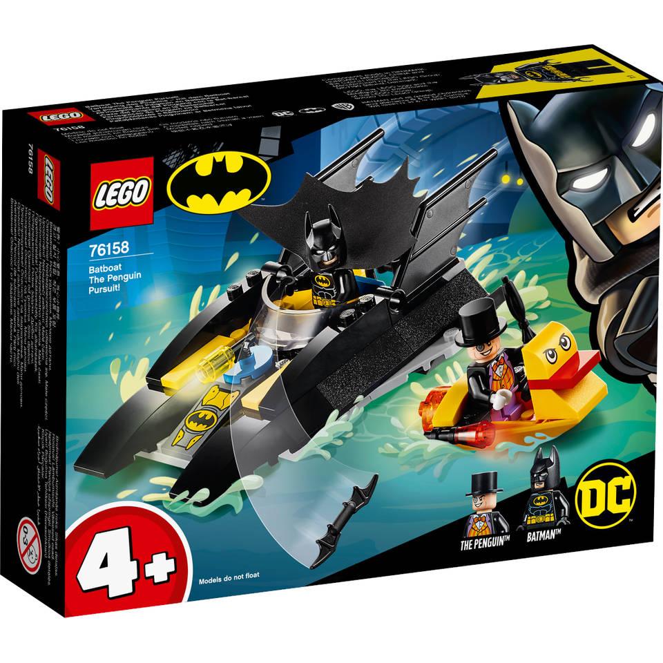 LEGO DC Comics Super Heroes Batboot de Penguin achtervolging 76158