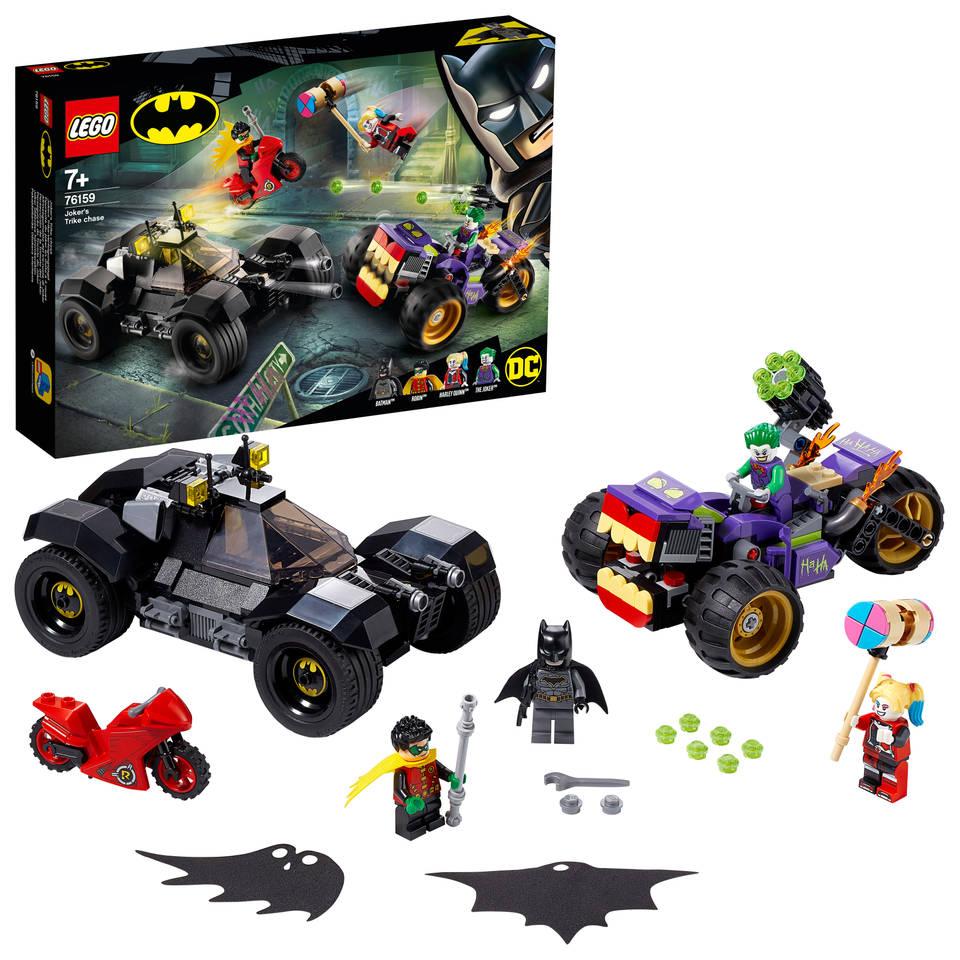 LEGO DC Comics Super Heroes Jokers trike achtervolging 76159