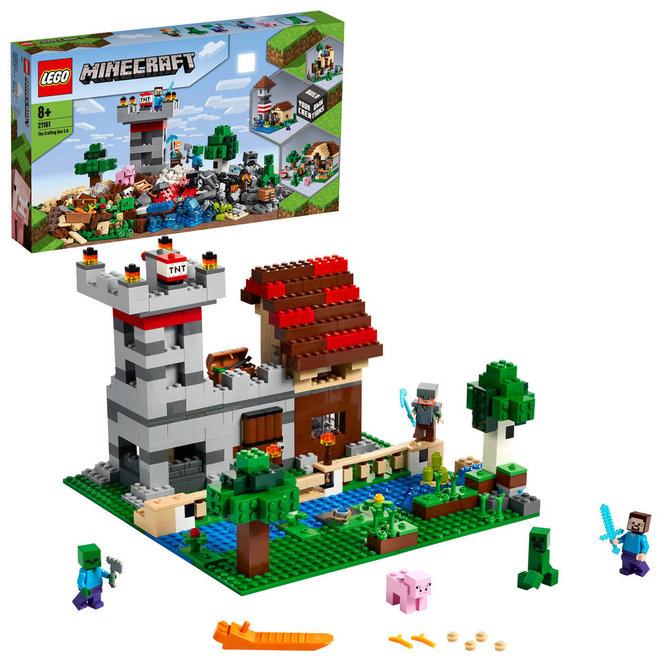 LEGO Minecraft de Crafting-box 3.0 21161