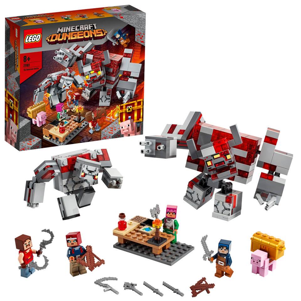 LEGO Minecraft slag om Redstone 21163