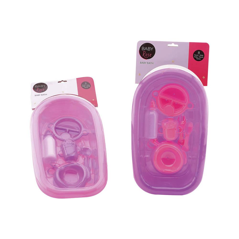 Baby Rose babybad met accessoires