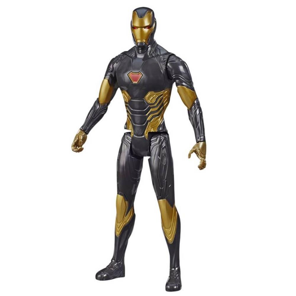 Marvel Avengers Titan Hero Blast Gear Iron Man actiefiguur - 31 cm