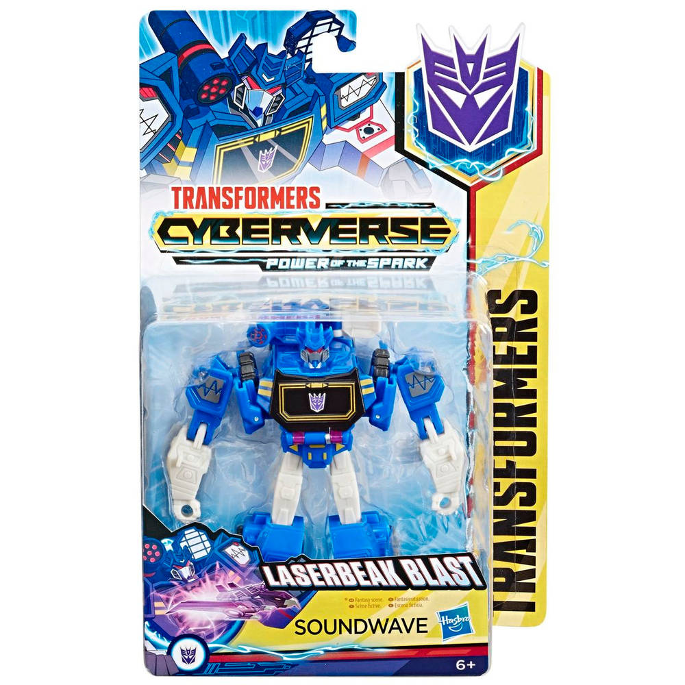 Transformers Cyberverse Warrior Class Action Attackers