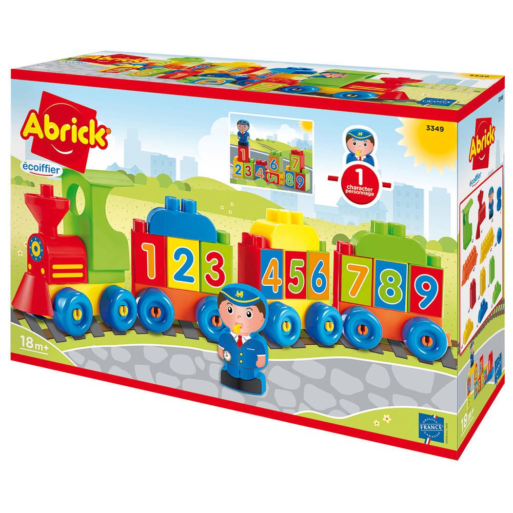 Abrick cijfer- en lettertrein