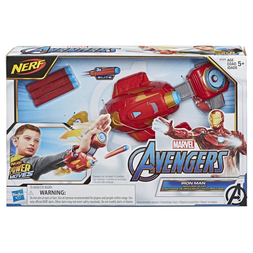 NERF Marvel Avengers Power Moves Iron Man Repulsor Blast blasterhandschoen