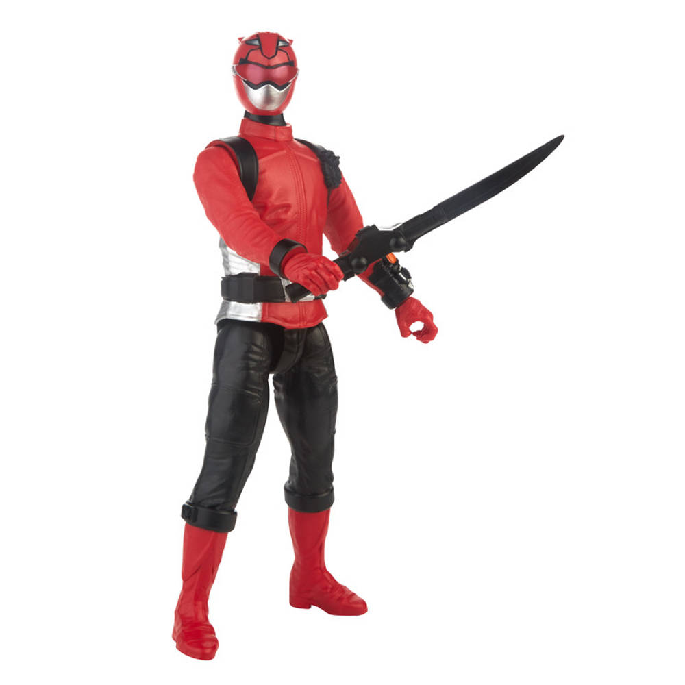 Power Rangers Beast Morphers figuur Red Ranger - 30 cm