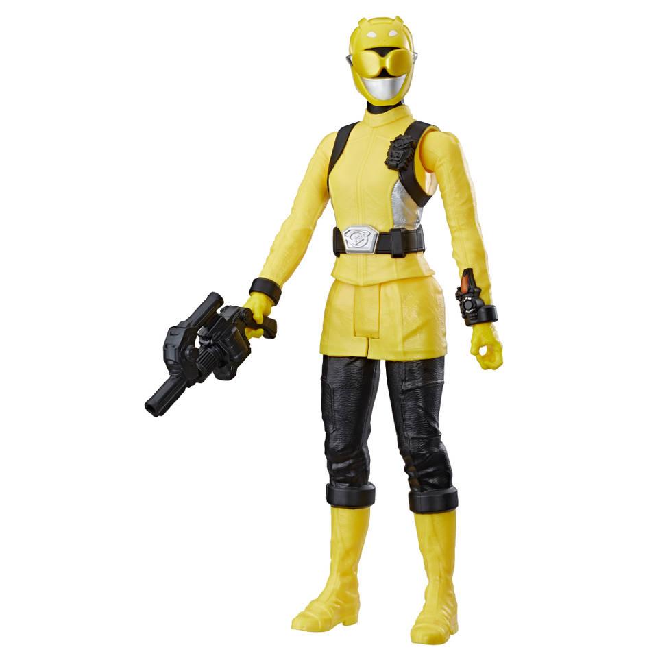 Power Rangers Beast Morphers figuur Yellow Ranger - 30 cm