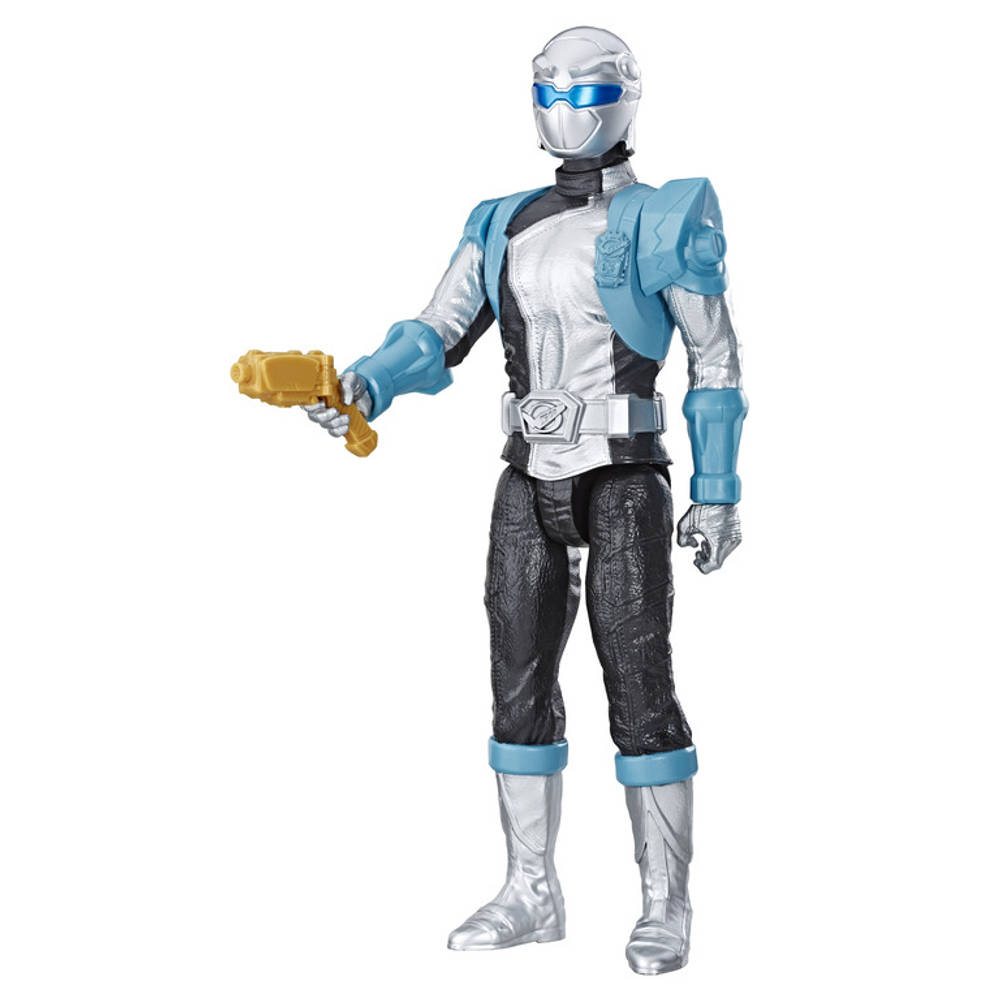 Power Rangers Beast Morphers figuur Silver Ranger - 30 cm